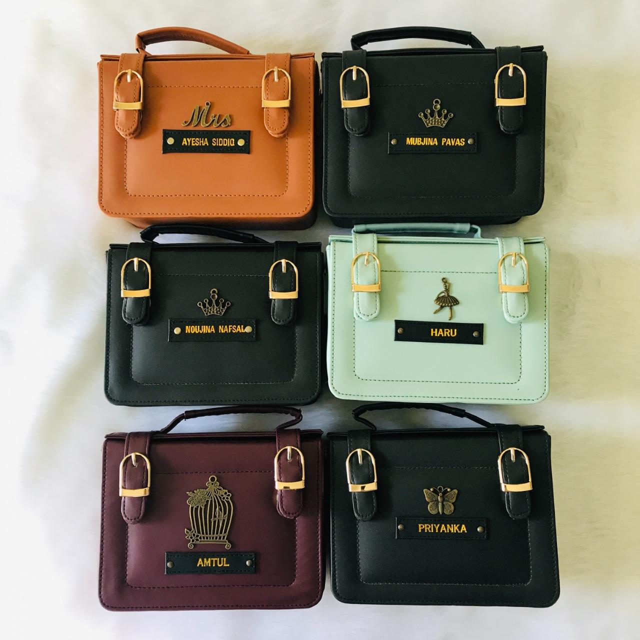 Box Sling Bag