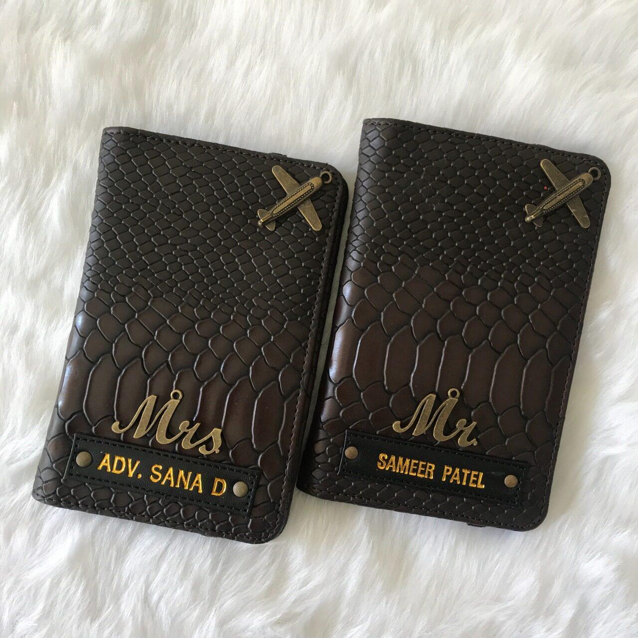 Crocodile Passport Cover