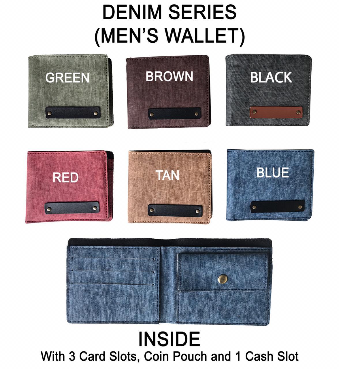Denim Men Wallet