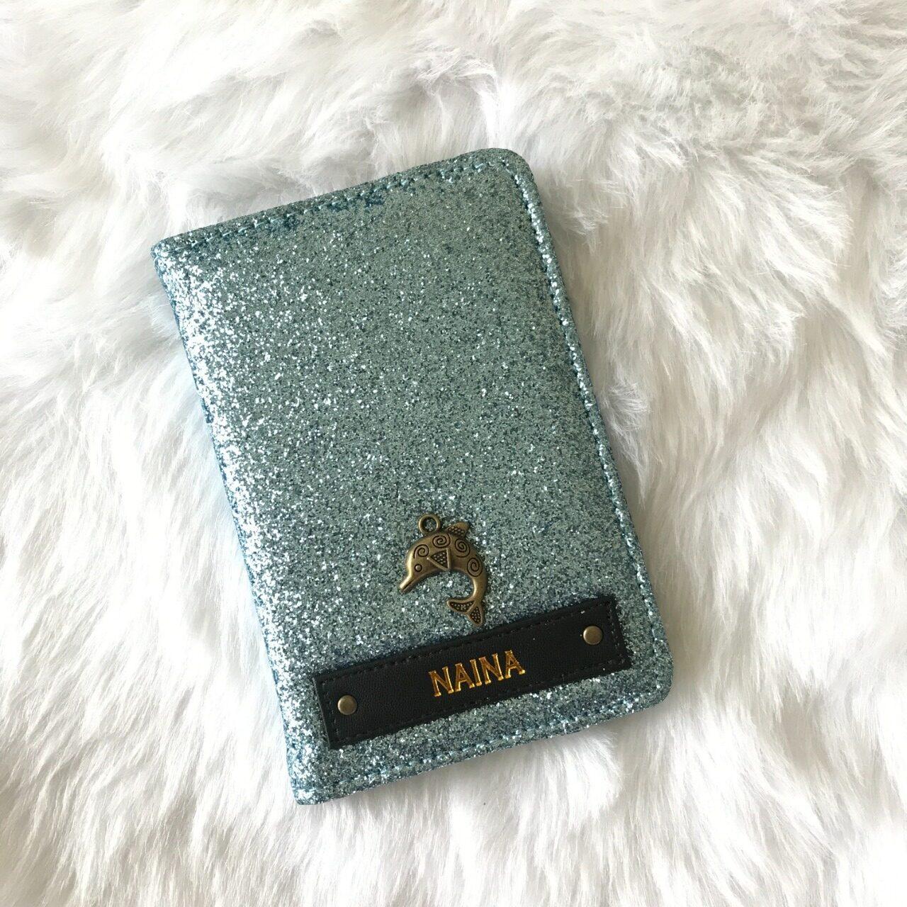 Shimmer Passport Cover