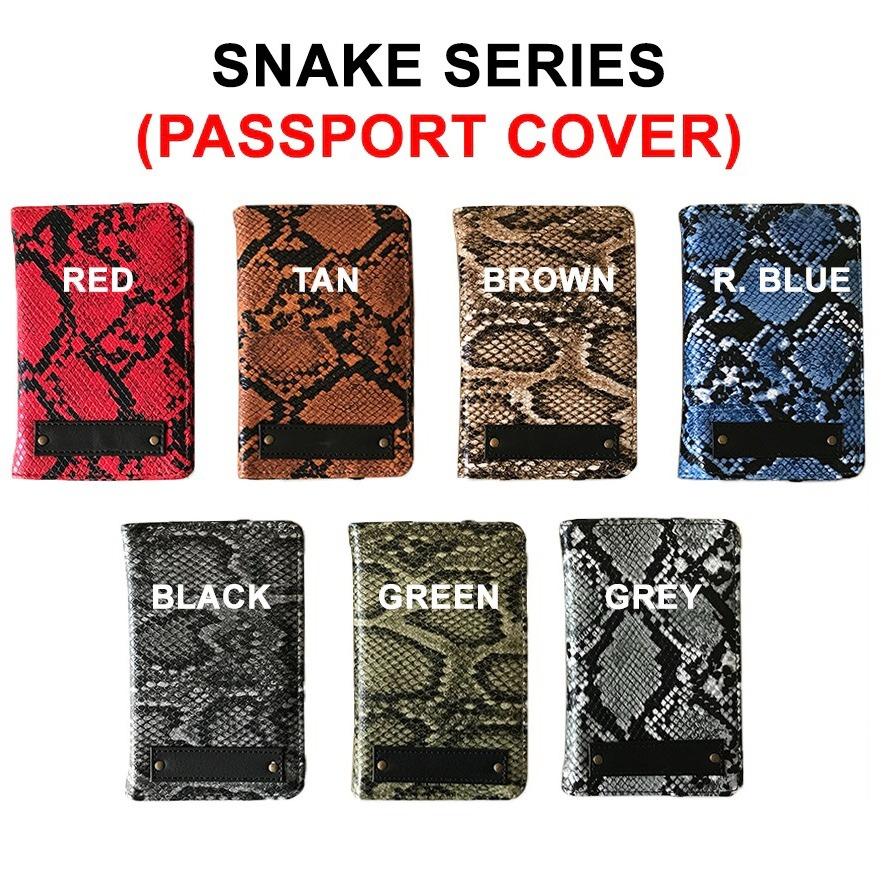Snake Passport Cover