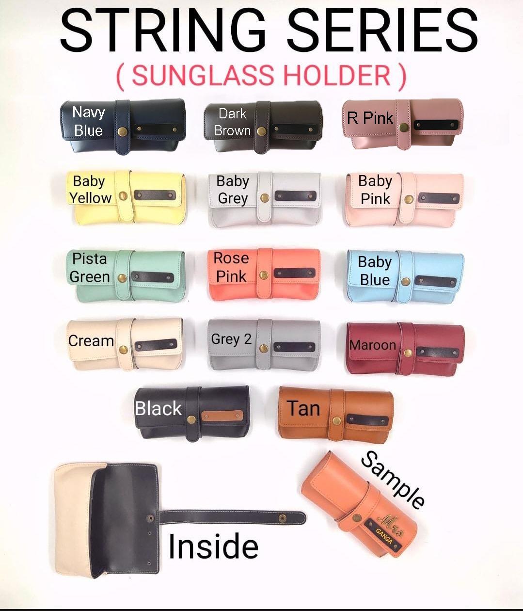 String Series Sunglass Holder
